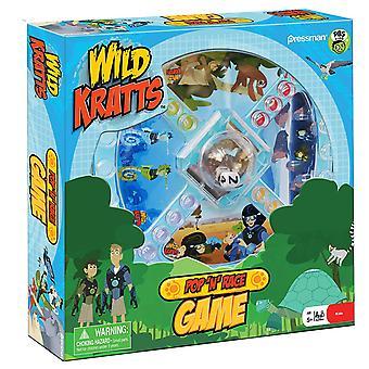 Games - Pressman Toy - Wild Kratts Pop 'N' Race New 4082-06