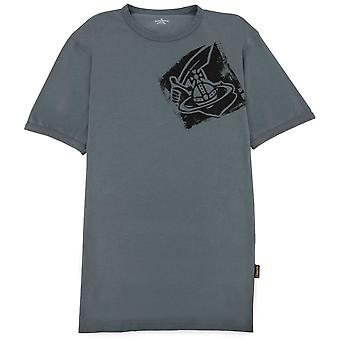 Vivienne Westwood Arm & Cutlass Classic T Shirt Grey P401