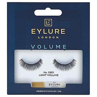 Eylure Volume Handmade False Black Wimpers - 083 - Lash Lijm is inbegrepen
