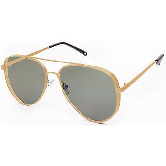 نظارات شمسية Unisex Cat.3 الذهب / الفضة (19-202)