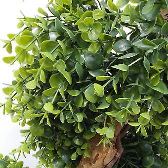 100cm künstliche Spirale Topiary Baum natürlichen Look UV geschützt