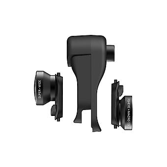 olloclip pour iPhone XS MAX Clip + Fisheye + Super Wide + Macro objectif iPhone XS MAX