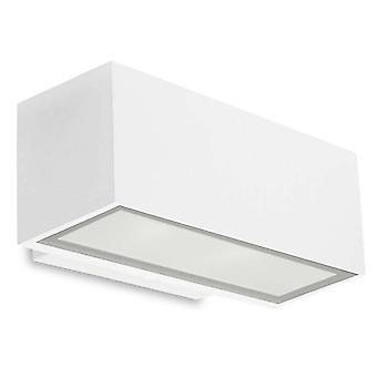 Leds-C4 Afrodita - LED Licht Outdoor kleine Wandscheibe Licht weiß IP65