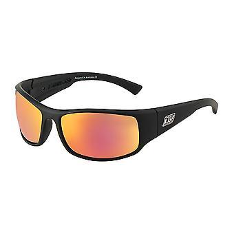 Dirty Dog Muzzle Polarised Sunglasses (black/grey/red)