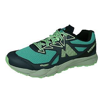 Merrell Agility Fusion Flex Womens Trail Running Allenatori / Scarpe - Turquoise