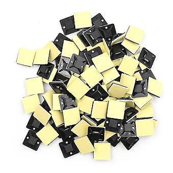 Self Adhesive, Stick-on Mounts For Cable, Ties / Routing Looms Base Clamps Clip