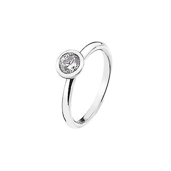 Emozioni Sterling Silver Cubic Zirconia Innocence Ring ER018
