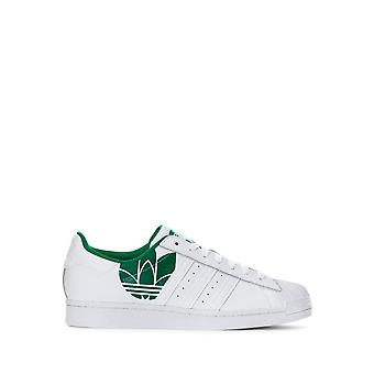 Adidas - Shoes - Sneakers - FY2827_Superstar - Unisex - white,green - UK 8.0