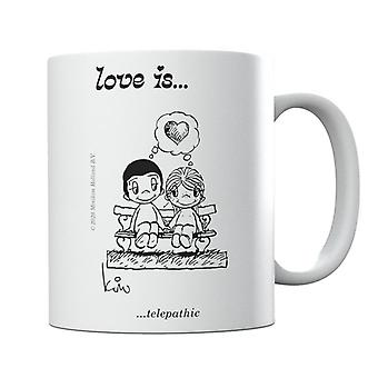 Kærlighed er telepatisk krus