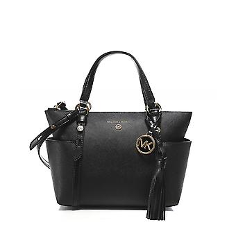 Michael Kors Small Saffiano Leather Top Zip Tote Bag