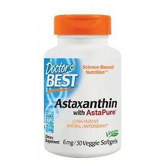 Leger Best Astaxanthin, 6 mg, 30 Softgels