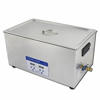 22l Professional Digital Ultrasonic Cleaner Machine With Timer Heated Stainless Steel Cleaning Tank 110v/220v