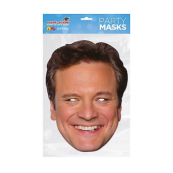 Mask-arade Colin Firth New Celebrities Party Face Mask