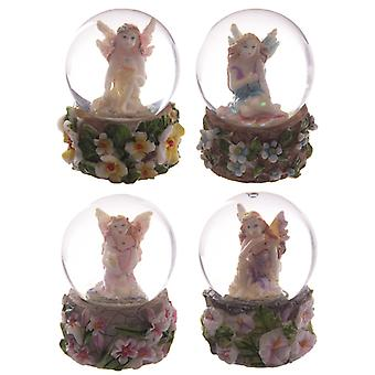 Cute Flower Fairy Mini Waterball Snow Globe