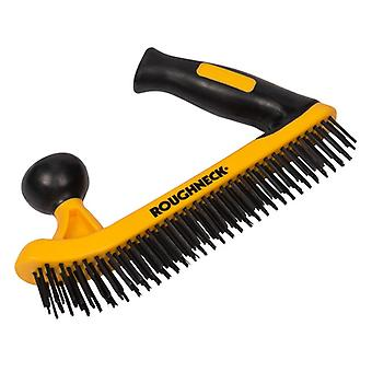 Roughneck Two Handed Wire Brush Soft-Grip ROU52052