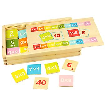 Bigjigs Wooden Times Table Box