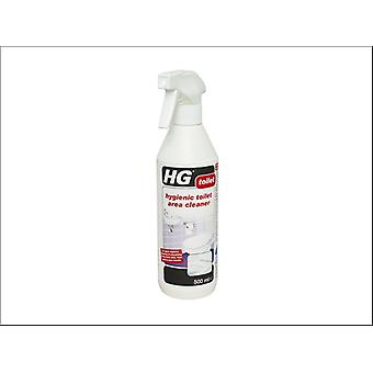 HG Hygenic Toilet Area Cleaner 500ml