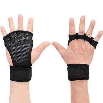 1 Pair Gloves / Men Used During Weight Lifting ,body Building ,gymnastics,  Gym