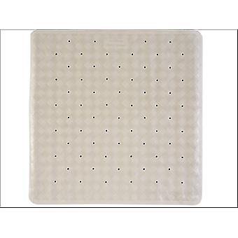 Home Label Roman Shower Mat Cream 95355