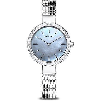 Bering naisten kello Classic hopea kiiltävä 16831-004