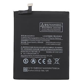3000mAh لي بوليمر البطارية BN31 ل Xiaomi مي 5X