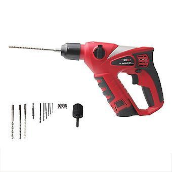 12v draadloze elektrische hamer, Impact Drill 2000mah Batterij oplaadbaar