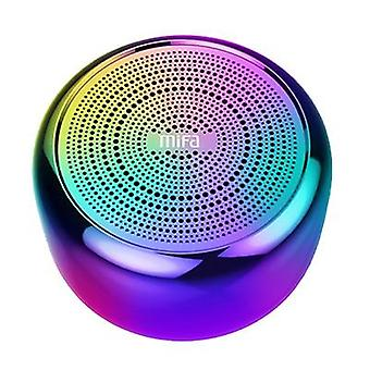 Portable Bluetooth Speaker - Built In Microphone And Aluminium Alloy Body