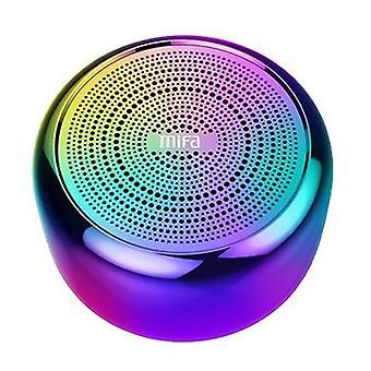 Boxă Bluetooth portabilă - Microfon încorporat și corp din aliaj de aluminiu