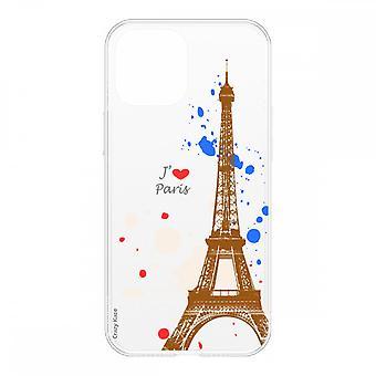 Schale Für Iphone 12 Mini (5,4) Weich Paris