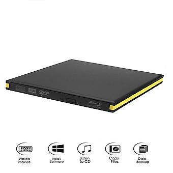 External Blu-ray Drive Usb 3.0 Bluray Burner Bd-re Cd/dvd Rw Writer Play 3d