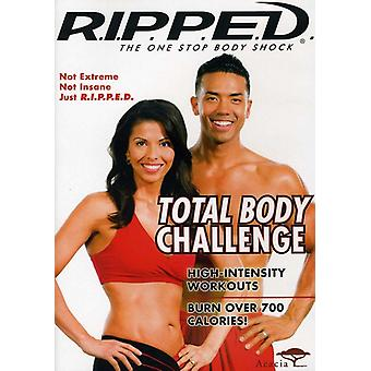R.I.P.P.E.D. Total Body Challenge [DVD] USA import