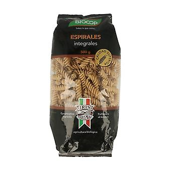 Organic Whole Wheat Spirals 500 g