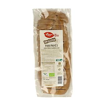 Country bread with organic buckwheat 250 g