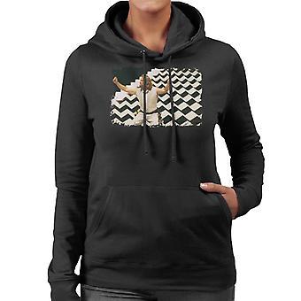 The Big Lebowski The Dude Dream Sequence Women's Hooded Sweatshirt
