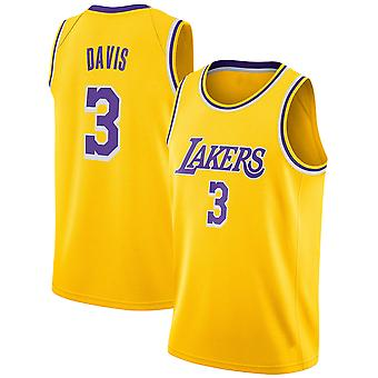 Los Angeles Lakers Davis Loose Baschet Jersey Tricouri sport 3QY022