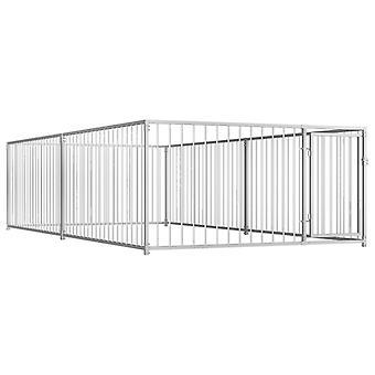 Outdoor dog kennel 200×400×100 cm