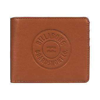 Billabong Men's Trifold Lompakko ~ Seinämaadinen ID-tan