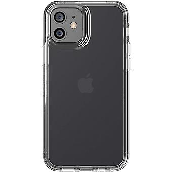 tech21 Evo Clear for Apple iPhone 12 and 12 Pro 5G - Germ Fighting Antimicrobial Phone Case