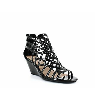Material Girl   Henie Caged Demi Wedge Sandals