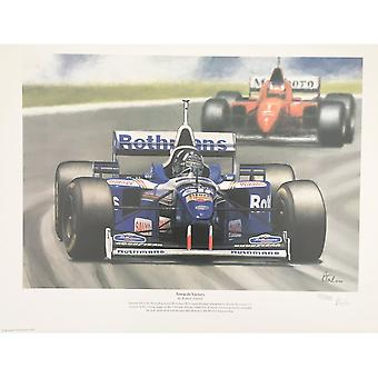 Victor Trusch Towards Victory Print By Robert Tomlin