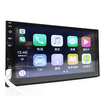 "Car Radio Bluetooth Android Auto 7"" Touch Screen Video Mp5 Player, Usb Tf Iso"