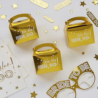 Woo Hoo Hen Do - Favour Boxes - 10 Pack