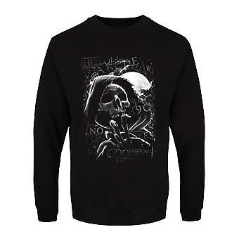 Grindstore Mens Skull Moon Ouija Sweatshirt