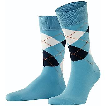 Burlington King Socks - Sky Blue