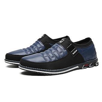 Genuine Leather, Elastic Band Design, Tenacity Comfortable Shoes's