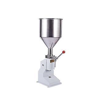 A03 Máquina de llenado manual, máquina de llenado manual de champú esmalte de uñas (blanco)
