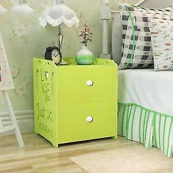 Economical Assembly's Room Locker Bedroom Dormitory Bedside Table/small Cabinet