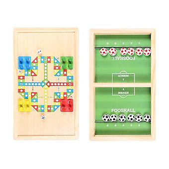 Hockey Game Table Desktop Battle Classic Game Board (a)