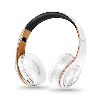 Stereo Earphones Bluetooth Headphone Music Headset Fm Support Sd Card With Mic