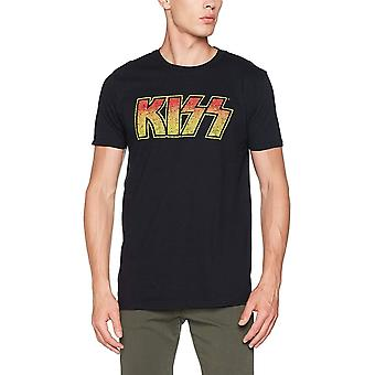 Kiss Unisex Adults Vintage Logo Design T-shirt